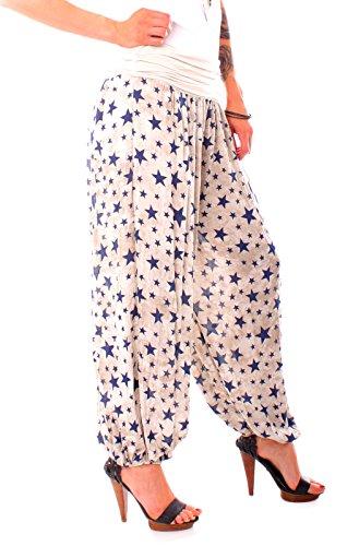 Fragola Moda - Pantalón - para mujer Beige