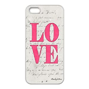 Custom LiuXueFei Phone caseLove Pink For Iphone 5c -Style-12