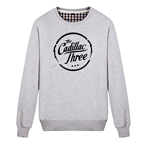 Chimpanzee Cadillac General Motors Sweatshirt (Gray (Seattle Mariners Womens Hoody Sweatshirt)