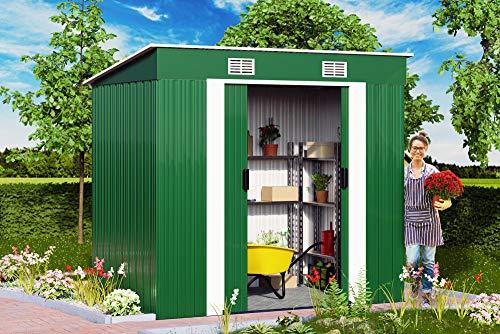 metal garden sheds 6x4