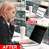 SightPro Easy On/Off Privacy Screen for MacBook Air 13 Inch (2018, 2019) | Laptop Privacy Filter and Anti-Glare Protector