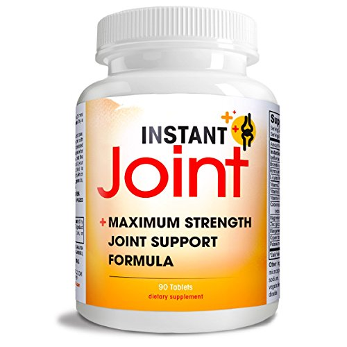 Instant Joint COMPLETE Natural Joint Support Formula MAXIMUM Joint Health Support blend of natural ingredients. 90ct
