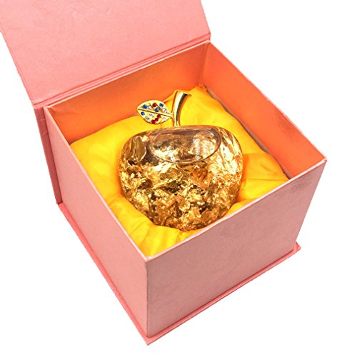 Qinni-shop Apple Presents A Christmas Gift To A Girl Friend For Christmas Eve Golden Apple - Apple Golden Accent