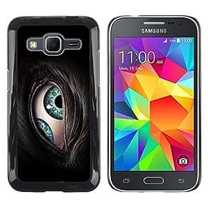 Shell-Star Arte & diseño plástico duro Fundas Cover Cubre Hard Case Cover para Samsung Galaxy Core Prime / SM-G360 ( The Cyborg Eye )