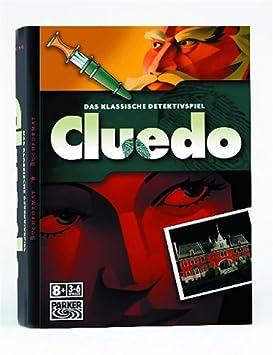 Hasbro - Cluedo Edición Libro (versión en alemán): Amazon.es ...