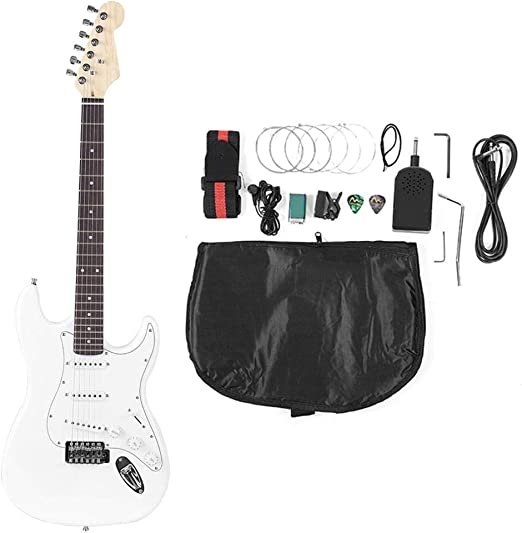 SOULONG - Cuerda de guitarra eléctrica infantil de 39 pulgadas ...