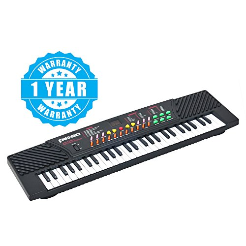 Plixio 54 Key Children's Electric Music Keyboard Piano for Beginners and Kids- Portable