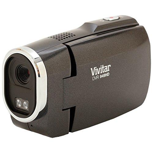 Sakar Vivitar DVR949-BLACK 12.1MP Full HD Digital Camcord...