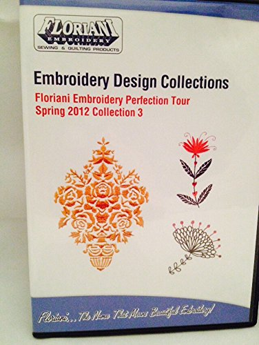 Floriani Embroidery Designs Collection Perfection Tour Spring 2012 10 Designs CD