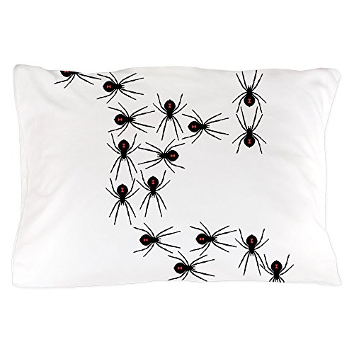 CafePress - Creepy Crawly Spiders - Standard Size Pillow Case, 20