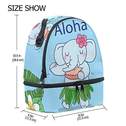 con de hombro correa para el FOLPPLY almuerzo Bolsa térmica ajustable para escuela la pincnic el para Hawai xZpqYUwf