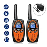 Best Walkie Talkies For Kids Rechargeables - Safrey Walkie Talkies Charger, Support Rechargeable Battery, 22 Review