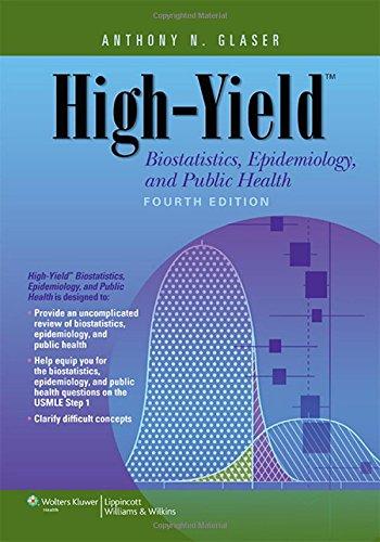High-Yield Biostatistics, Epidemiology, and Public Health (High-Yield Series)