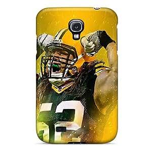Samsung Galaxy S4 Gvn1919gyrw Customized Lifelike Green Bay Packers Skin Anti-Scratch Hard Phone Case -KennethKaczmarek