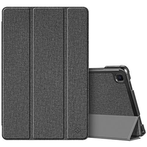 Fintie Slim Case for Samsung Galaxy Tab A7 10.4'' 2020 Model (SM-T500/T505/T507), Ultra Lightweight Tri-Fold Stand Protective Cover with Auto Wake/Sleep, Gray