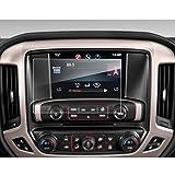 LFOTPP GMC Sierra 1500 2500HD 3500HD 8 Inch IntelliLink 2016-2017 Car Navigation Screen Protector, [9H] Tempered Glass Center Touch Screen Protector Anti Scratch High Clarity