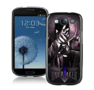 Beautiful And Unique Designed Case For Samsung Galaxy S3 With Wwe Superstars Collection Wwe 2k15 The Undertaker 15 Black Phone Case