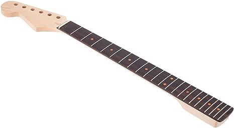 Andoer® 22 Traste Cuello de Guitarra Eléctrica Rosewood Diapasón ...