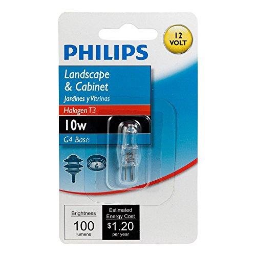 Philips 10 Watt Bi Pin Halogen Landscape Light Bulb in US - 5