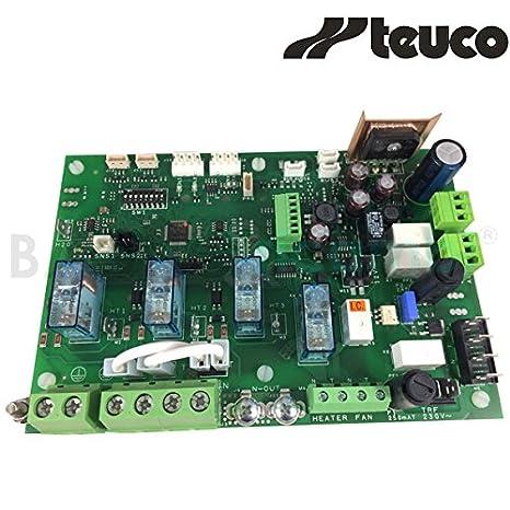 TEUCO Tarjeta electrónica para Hammam Pasha 81100592400 ...