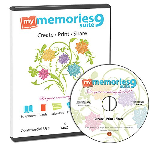My Memories Suite 9 Digital Scrapbooking Software [Mac and PC]