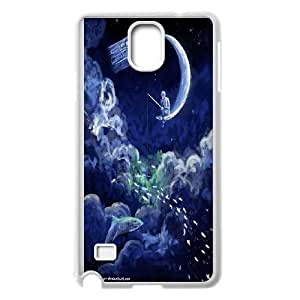 Custom Doctor Who poster phone Case Cove For Samsung Galaxy NOTE4 Case Cover XXM9143069