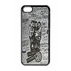 DDOUGS I 5 SOS Customized Cell Phone Case for Iphone 5C, Personalised I 5 SOS Case