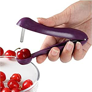 Bluelover Handheld Stainless Steel Cherry Pitter Fruit Olive Core Remover