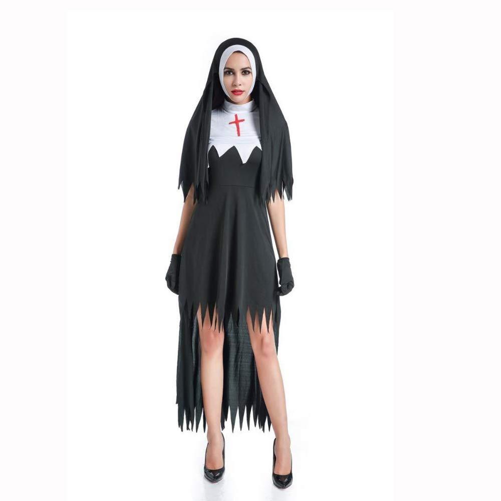 Shisky Cosplay Cosplay Shisky kostüm Damen, Roter Dämon Halloween Kostüm Vampir Hexe Kleid Uniform Kleid 977a4b