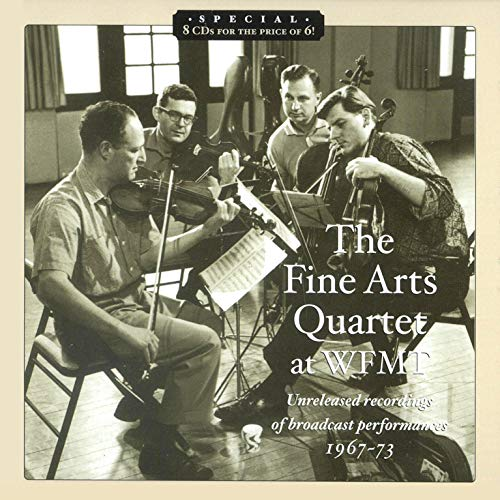 (The Fine Arts Quartet at WFMT (Unreleased Recordings of Broadcast Performances, 1967-73))