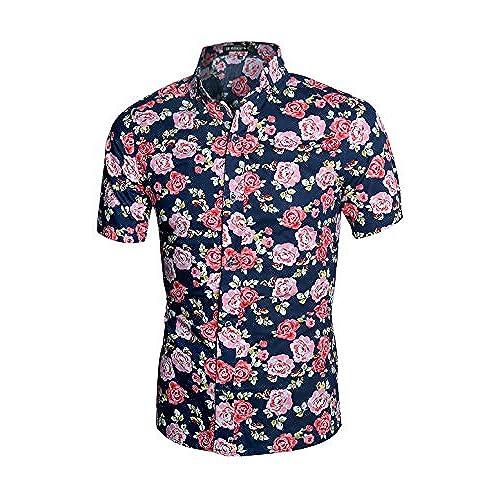 Men 39 s floral shirts for Floral mens t shirts