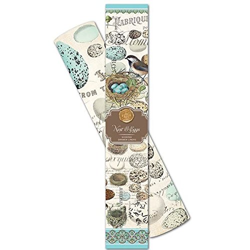Michel Design Works Fresh Morning Rain Scented Scented Drawer Liners, Nest & Eggs