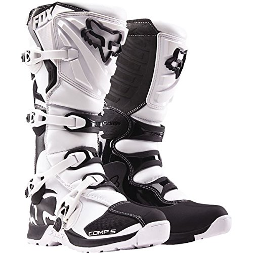 2018 Fox Racing Comp 5 Boots-White-9