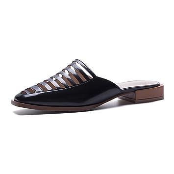 21219ae1e8f6 Amazon.com  KJJDE Elastic Flat Sandals For Women WSXY-L17 Premium ...