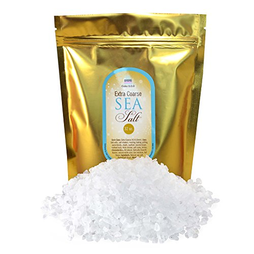 - Premium Atlantic Sea Salt, Extra Coarse Grain 2 lb.