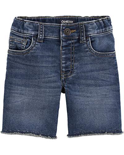 Osh Kosh Boys' Toddler Fashion Jean Short, Medium Vintage wash 5T - Oshkosh Boys Shorts