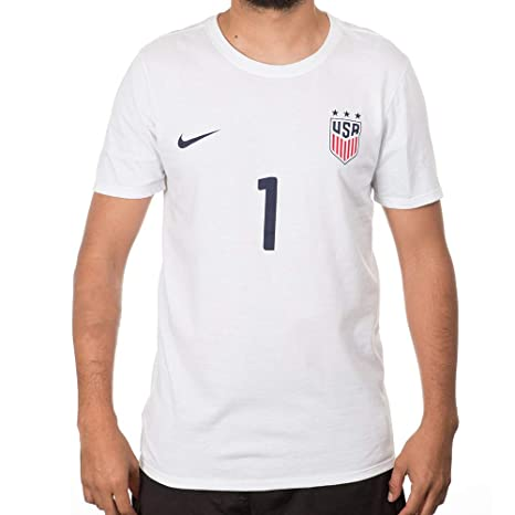 save off f00c3 63cb5 Nike Men s US Women s National Team Jersey Replica Tee (Small, Hope Solo)