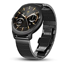 Ticwatch 2 Smartwatch - Onyx Smart Watch for iOS and Android Devices
