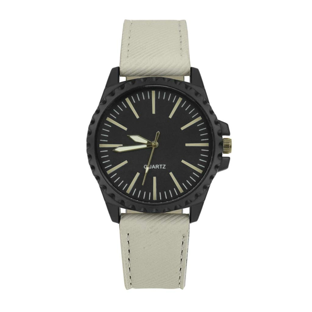 Rcool Relojes suizos relojes de lujo Relojes de pulsera Relojes para mujer Relojes para hombre Relojes deportivos,Diseño retro banda de cuero reloj de ...