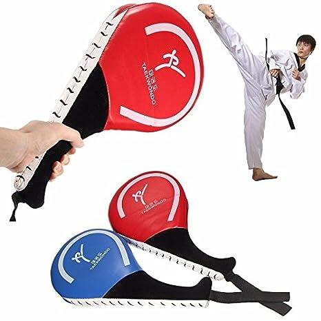 Taekwondo Double Kick Pad Target Tae Kwon Do Karate Kickboxing Traning Gear Buckdirect Worldwide Ltd.