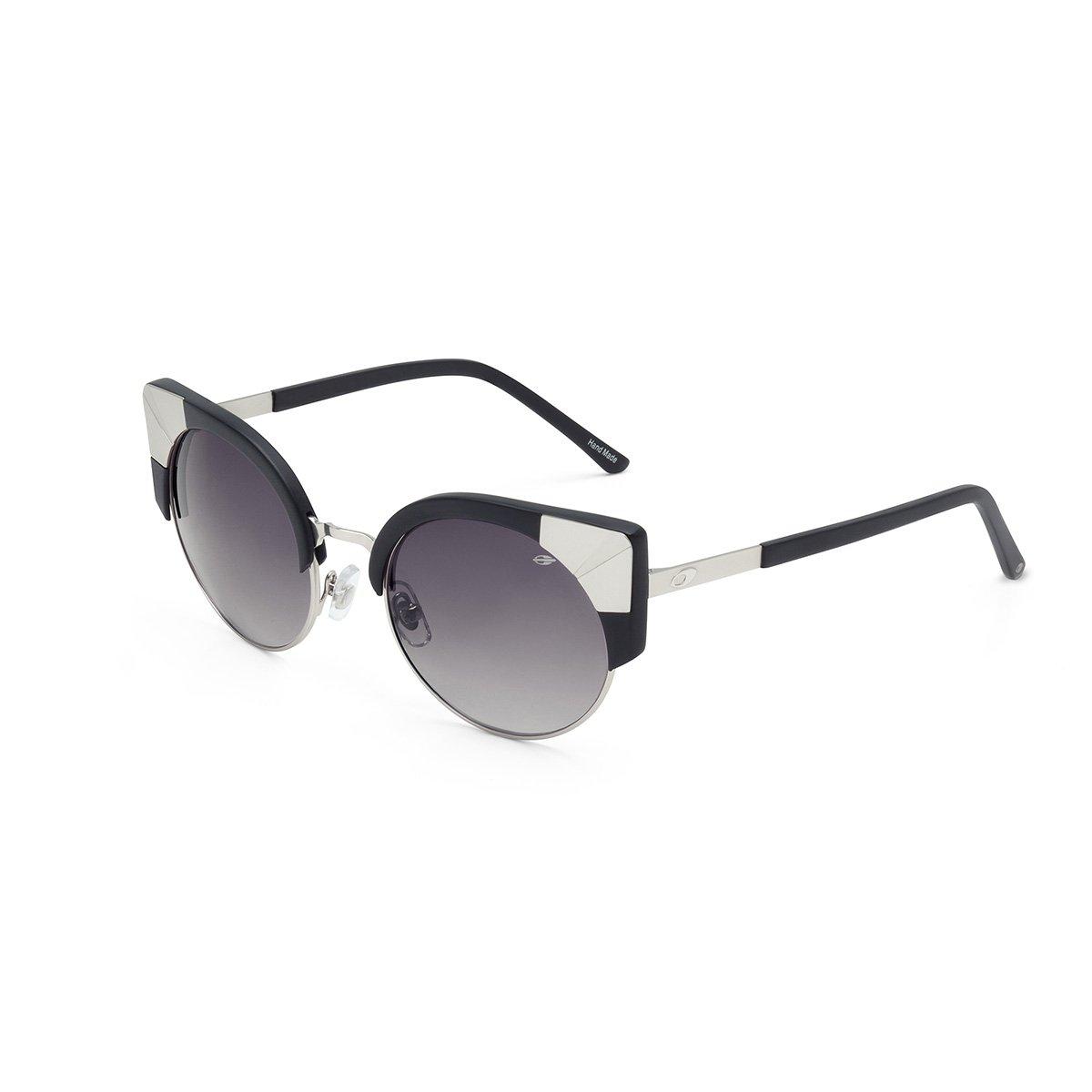 MORMAII Gafas de sol M0024 Tainah Juanuk, negro y metal