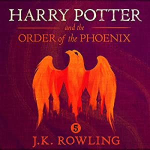 Harry Potter and the Order of the Phoenix, Book 5 Audiobook