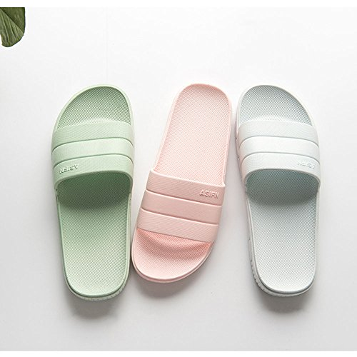 Indoor Summer Couples Open amp;KATE Toe Green Outdoor Bathroom Anti Men Slip Bath 1 Women House WILLIAM Shower Slippers Sandals SvR5w