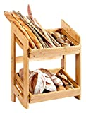 Rosseto BD136 Natura Tray and Stand System, Bamboo