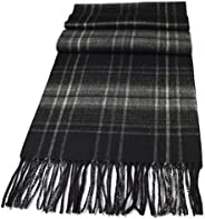 Urban Edge Super soft, warm Pure New Wool knit scarf. Large size scarfs, in gift-box. For men & wo