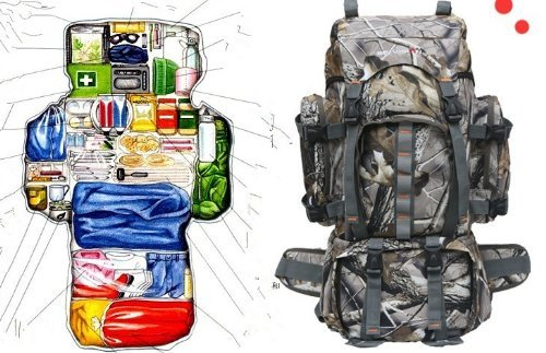 Amazon.com : 60L Outdoor Sports Army 3 Day Assault Hiking Camping ...