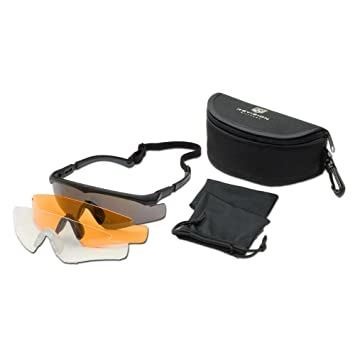d1529a842620 Brille Revision Sawfly MAX-Wrap Mission Kit regular schwarz  Amazon ...