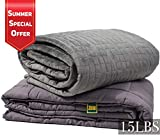 Premium Weighted Blanket for Anxiety Relief - Gravity Blanket Best Suited for Adults