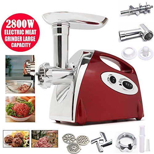 Lennov2800W Electric Meat Grinder and Duty Household Sausage Maker Meats...