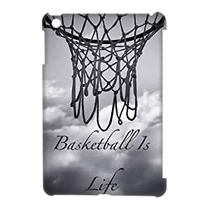 DIY Basketball 3D Phone Case, DIY 3D Case Cover for ipad mini with Basketball (Pattern-4)